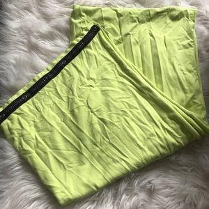 Lululemon vinyasa scarf neon yellow/green